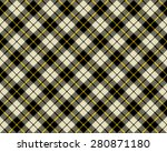 black and beige fabric texture... | Shutterstock . vector #280871180