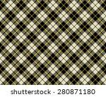black and beige fabric texture... | Shutterstock . vector #280871180