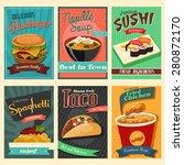 a vector illustration of food... | Shutterstock .eps vector #280872170