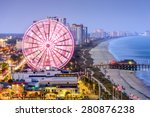 myrtle beach  south carolina ... | Shutterstock . vector #280876238