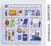 plastic model kit for concept...   Shutterstock .eps vector #280891583
