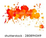 colorful abstract red and... | Shutterstock .eps vector #280894349