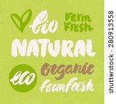 Organic  Natural  Bio  Eco And...