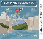 bosnia and herzegovina... | Shutterstock .eps vector #280915106