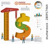 dollar puzzle info graphic...