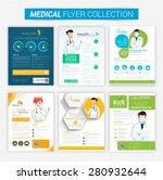 collection of health and... | Shutterstock .eps vector #280932644