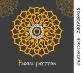 Circular Symmetrical Yellow...