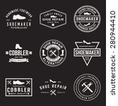 vector set of shoemaker and...