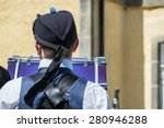 Pipe Band Drummer