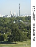 cityscape with the bt tower and ...