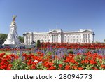 Buckingham Palace With Flowers...