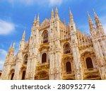 Vintage Looking Duomo Di Milan...