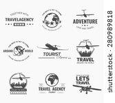 a set of vector logo design...