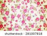 modern stylish texture. the... | Shutterstock . vector #281007818