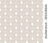 seamless geometric pattern of... | Shutterstock .eps vector #281018666