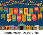 latin american holiday  the... | Shutterstock .eps vector #281019788