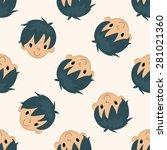 people character   cartoon... | Shutterstock .eps vector #281021360