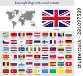 flags of the world collection ... | Shutterstock .eps vector #281097539