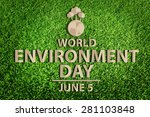 world environment day concept.... | Shutterstock . vector #281103848
