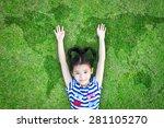 saving world environment ... | Shutterstock . vector #281105270