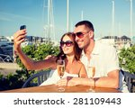 love  dating  people and... | Shutterstock . vector #281109443