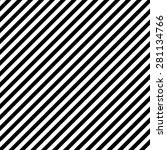 black and white stripe pattern | Shutterstock .eps vector #281134766