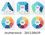 vector circle infographic.... | Shutterstock .eps vector #281138639
