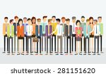 group people business team... | Shutterstock .eps vector #281151620