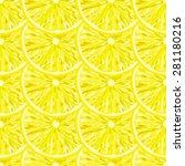 seamless pattern from slice of... | Shutterstock .eps vector #281180216