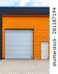orange warehouse | Shutterstock . vector #281187194