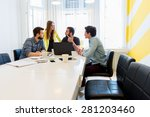 start up team | Shutterstock . vector #281203460