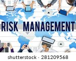 Small photo of Risk Management Control Analysis Protection Concept