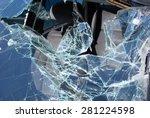 Car Crash   Broken Glass