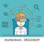 vector illustration of user...