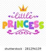 cute vector illustration for... | Shutterstock .eps vector #281296139