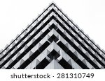 triangles in a building | Shutterstock . vector #281310749