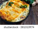 Spinach And Cheese Cannelloni...
