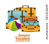 summer vacation design over... | Shutterstock .eps vector #281323649