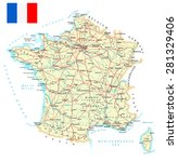 France   Detailed Map  ...