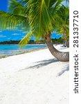 tropical sea under the blue sky | Shutterstock . vector #281337710