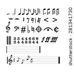 Complete Music Notes. Musical...