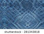 abstract beautiful blue elegant ... | Shutterstock . vector #281343818