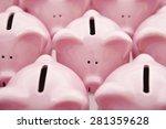 piggy banks | Shutterstock . vector #281359628