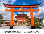 Kyoto  Japan At Fushimi Inari...
