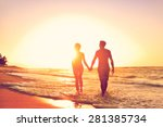 Honeymoon Couple Romantic In...