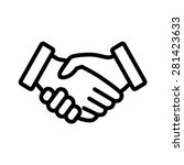 Business Handshake   Contract...
