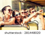friendship  travel  vacation ... | Shutterstock . vector #281448020