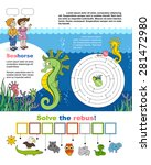 children games. page a4 for... | Shutterstock .eps vector #281472980