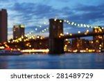 Bokeh Photo Of New York City...