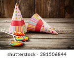 birthday background | Shutterstock . vector #281506844